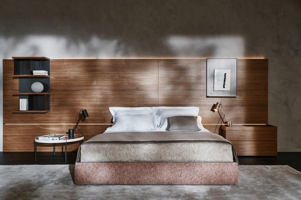 mobili letto arredamento interni design lusso lecce brindisi taranto