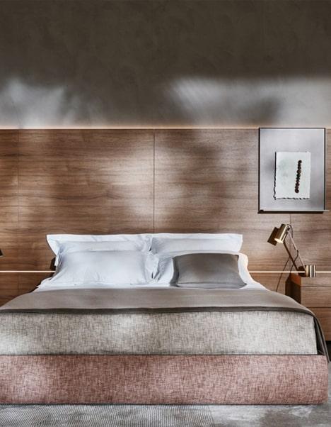 progettazione letto arredamento interni design mobili lusso lecce brindisi taranto