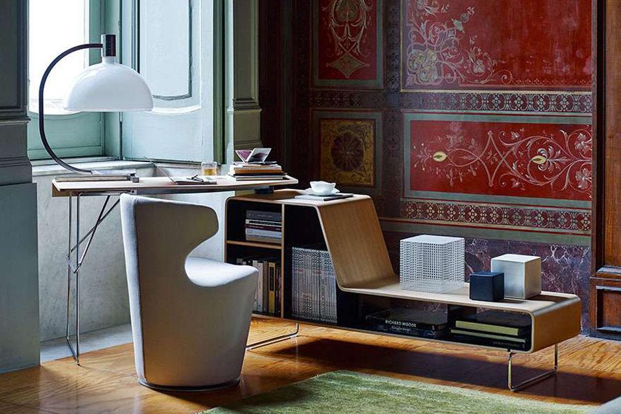 home office interior design lecce