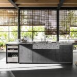 cucina con isola design progettazione Lecce